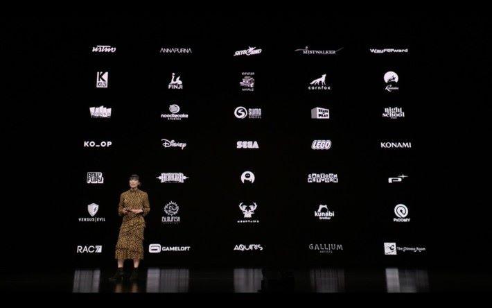 與 Sega 和 Konami 等多間廠商合作製作 Apple 獨家遊戲
