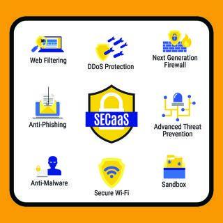 中小企業透過 HKT 網絡安全平台可享用全方位的網絡安全方案,對網絡作出防禦及保護。