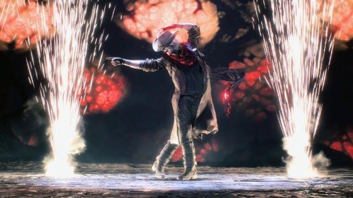 但丁取得牛仔帽魔具時會有一段模仿Michael Jackson的動畫。