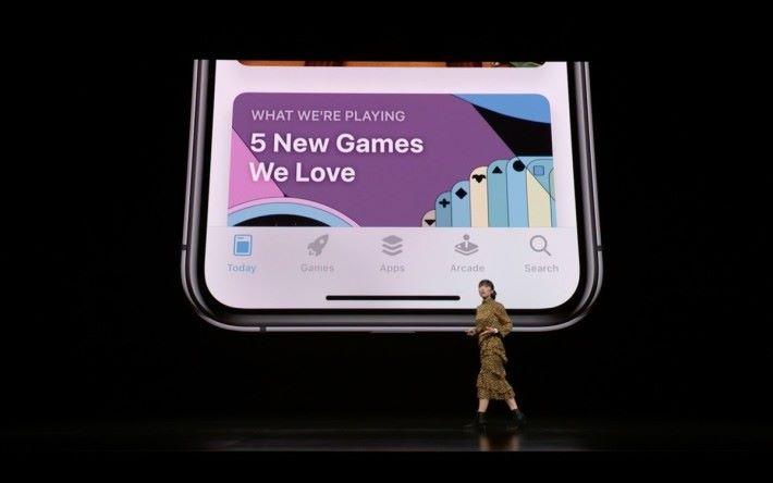 Apple Arcade 將會成為 App Store 其中一欄