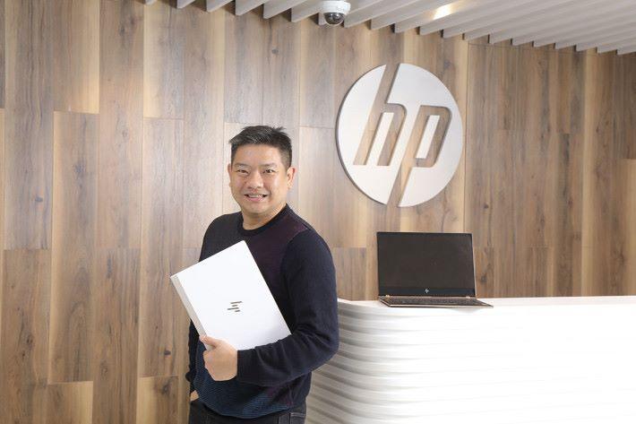 HP 消費產品業務總監黃浩章。