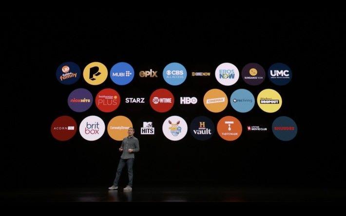 多家串流影音平台加入 Apple TV 計劃
