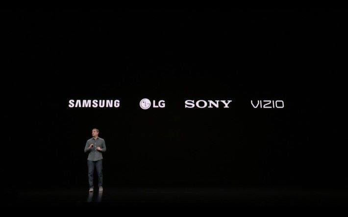 Apple TV App 春季將率先登陸 Samsung 電視,然後陸登陸 LG 、 Sony 等智能電視,甚至 Amazon 的 Fire TV。