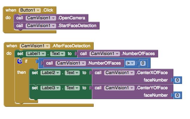 Makeblock 能提供簡潔的人工智能方案,包括人臉辨識、顏色辨識等。