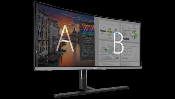 支援子母畫面(PIP)和多重畫面(PBP),在21:9 闊屏幕下使用起來更得心應手。