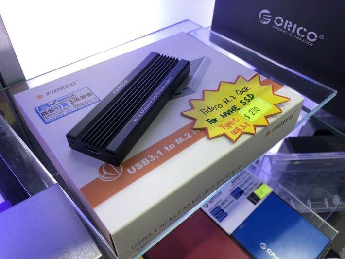 NVMe 速度一般過 1GB/s , Type-C Gen2 就是入門基本了。