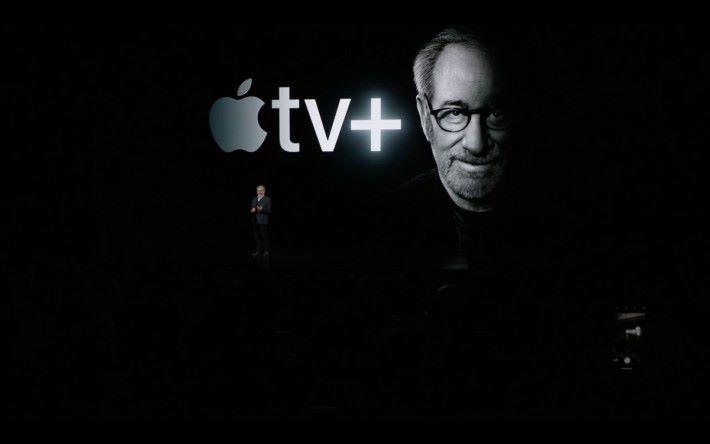 史提芬史匹堡親自站台為 Apple TV+ 做勢