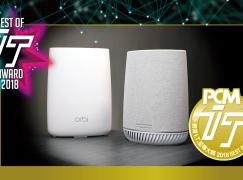 【IT Award 2018】至專 MESH 無線網狀網絡產品大獎 NETGEAR Orbi Mesh WiFi System with  Orbi Voice Smart Speaker (RBK50V)