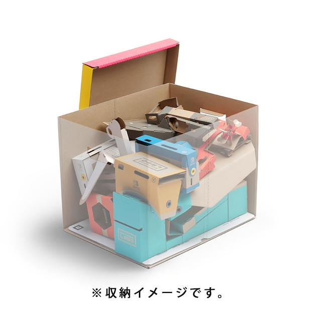 可收納到一整套 Labo Kit。