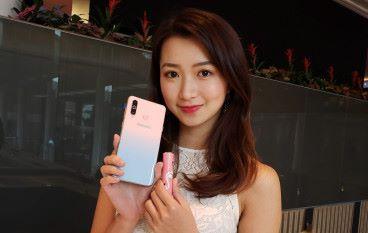 Samsung Galaxy A8s 魔幻粉新色專攻女生市場