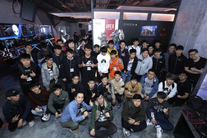 OMEN by HP × Apex Legends 擊殺挑戰賽參加者反應踴躍