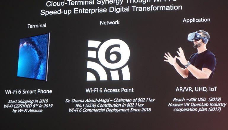 華為參與制定 Wi-Fi 6 2023 年九成企業採用