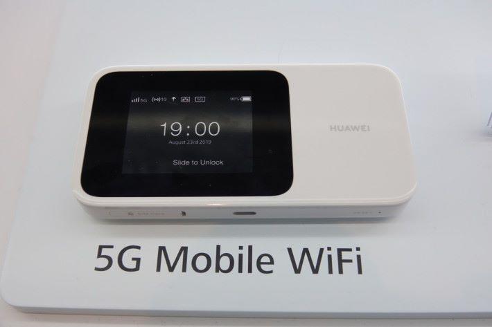 新發表的 5G Wi-FI 蛋亦支援 Wi-Fi 6。
