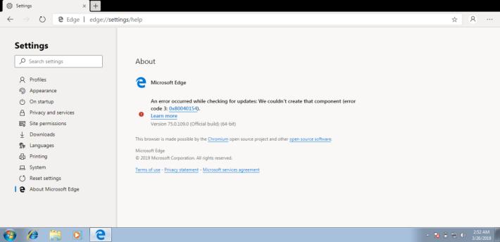 標明基於 Chromium 內核開發。此頁面的圖示很有 Windows 的影子。Source:mspoweruser