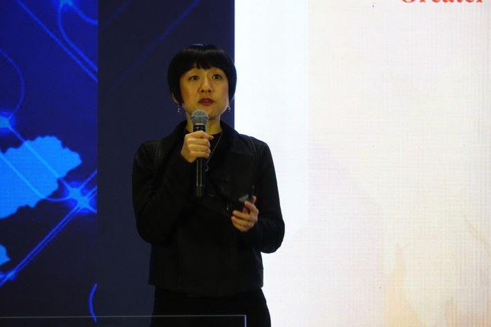 陳珊珊稱,微軟在大灣區內有發展四個重點。