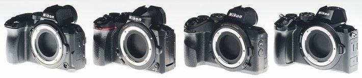 之前在網上流傳 Nikon 研發的新無反原型,機身也沒命名。
