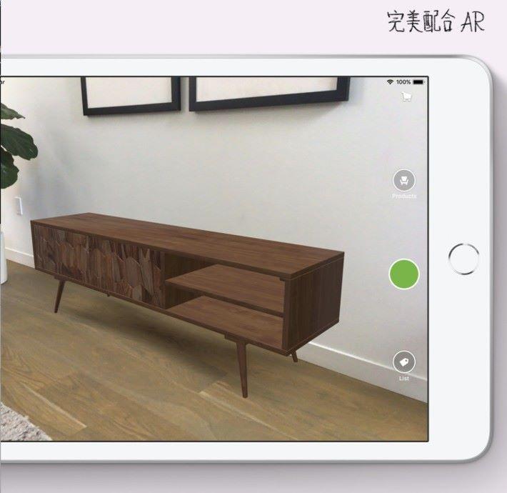 在 A12 仿生晶片的神經網絡引擎加持下,iPad mini 5 也能應付 AR 應用的需求。