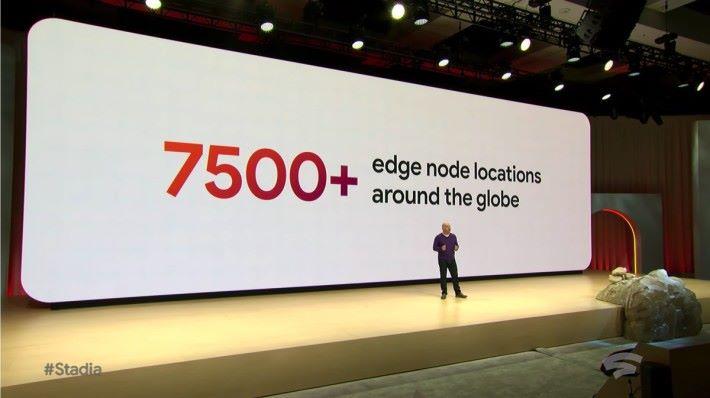 網絡基建絕對是 Google 的強項