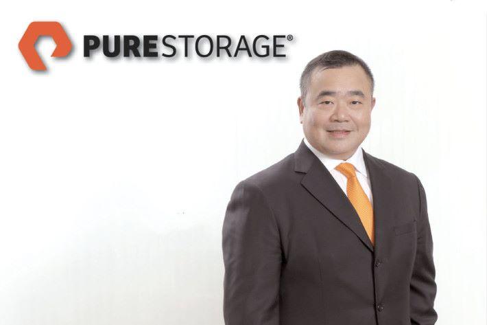 Pure Storage 香港及澳門區經經理陳錦全。