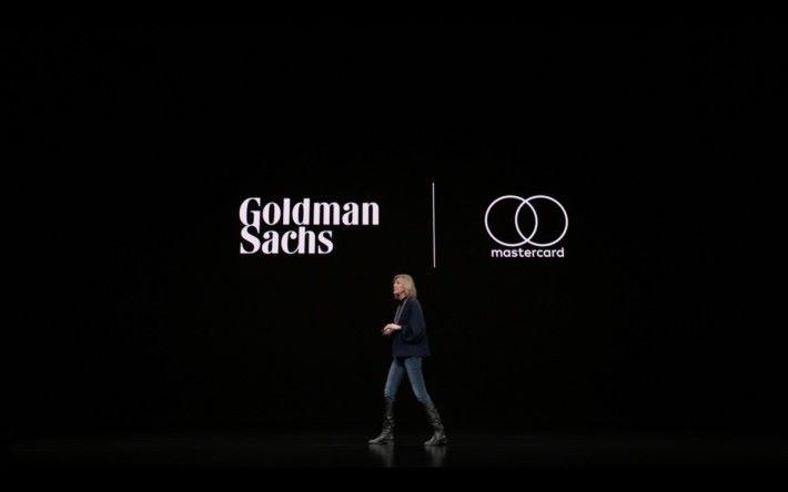 Apple Card 是高盛作為發卡行的 mastercard