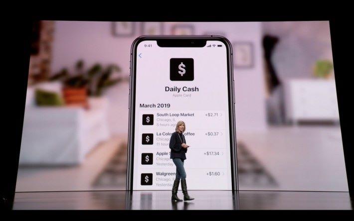 日日現金回贈也是 Apple Card 特色之一