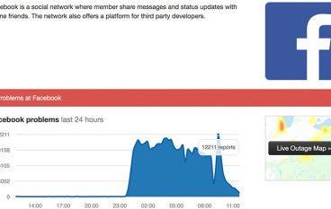 網絡服務事件頻生 Facebook 、 Instagram 又出事