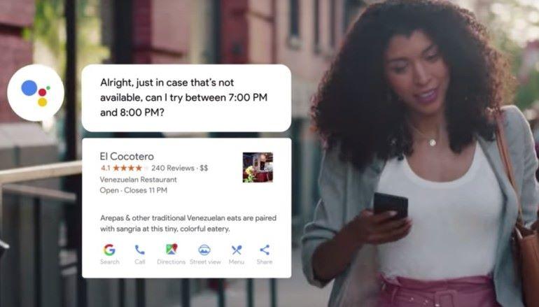Google 代你打電話預約餐廳 ? Duplex 功能即將推出