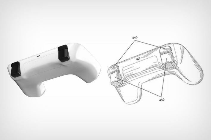 手掣以藍牙連接,但亦備有 USB 接口和電池蓋。(Designer/Visualization: Sarang Sheth)