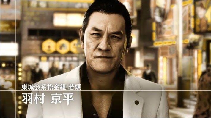 瀧正則在遊戲中飾演黑社會松金組若頭羽村京平