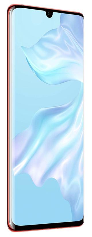 網上甚至找到 P30 Pro 的官方宣傳圖片,用上水滴型屏幕。