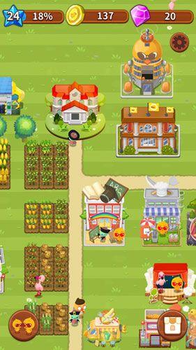 如一般農場遊戲一樣要種瓜種菜嚟完成任務、擴充小島規模。