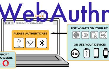 踏入無密碼時代 W3C 正式確認 WebAuthn 成為新認證標準
