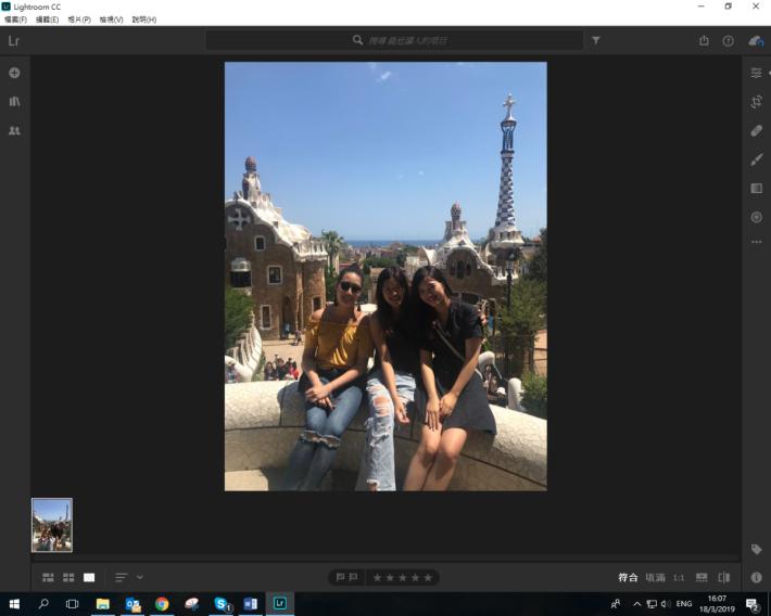 在 Adobe Photoshop Lightroom CC 中打開同系列中其中一張照片: 點選檔案(File)> 新增照片(Add Photos)。