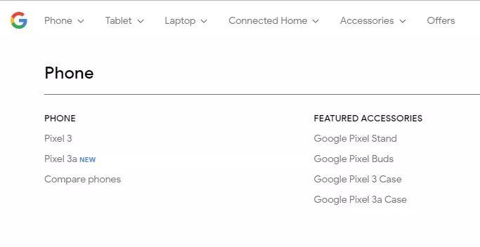 Google 早前在自己網店「不小心」披露了新手機名為 Pixel 3a