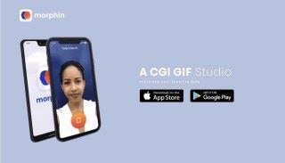 Morphin - CGI GIF Studio 是免費的自拍 GIF 動畫製作 App ,同時支援 Android 和 iOS 手機。