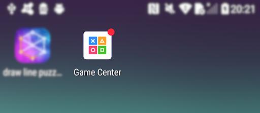 安裝程式後,手機 Home 畫面會多了一個 Game Center 捷徑。(資料來源: Avast )