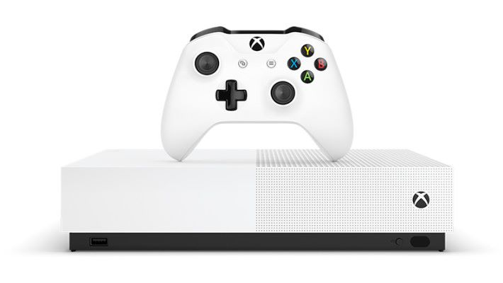 除了沒有光碟機之外, Xbox One S All-digital Edition 規格與過去的 Xbox One S 相同。