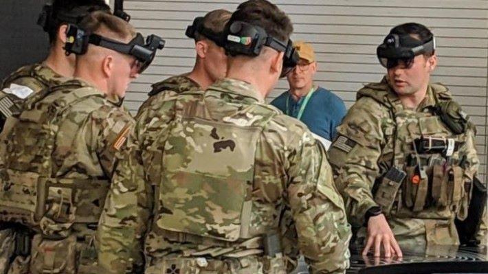 美國陸軍試用這款軍用 AR 戴裝置 IVAS