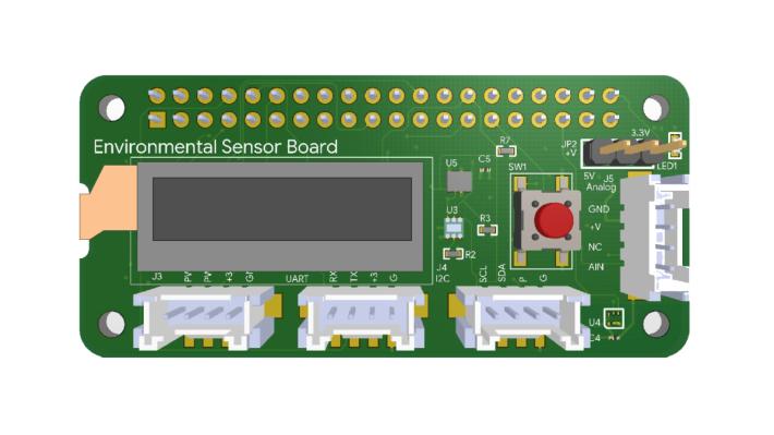 配合 Coral Dev Board 的環境傳感器板稍後才會在香港推出。