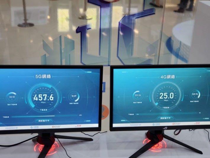 5G 比 4G 的速度快上百倍。