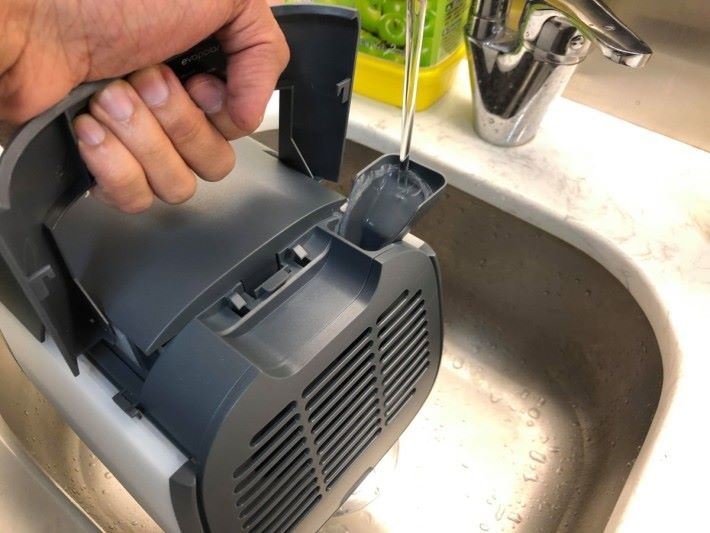 注入水作為冷卻劑