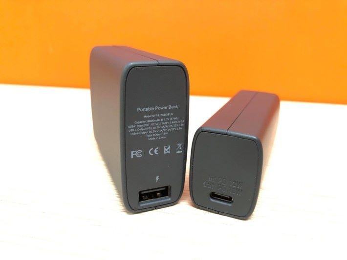支援 USB-A 及 USB-C PD 快速充電。