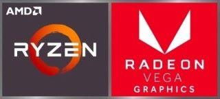 新款的 Ryzen 筆電都會有這兩款貼紙。