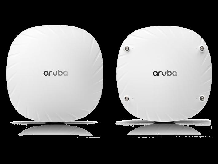 Aruba 的產品選擇甚多,由 AP-510 至 AP-550 系列,覆蓋效能各有不同。