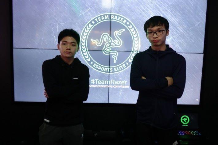 蔡嘉熙 Daniel(圖左)和鄭加皓 Ka Ho(圖右)