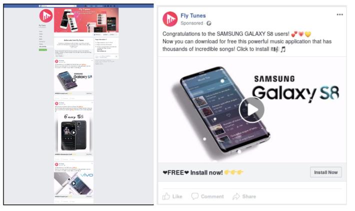惡意程式開發人利用 Facebook SDK 的功能,令惡意廣告程式只會在透過 Facebook 廣告來安裝下才會啟動。(資料來源: Avast )