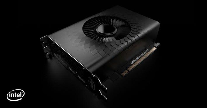 目前 Intel 沒透露太多資料,只是邀請了很多設計師構想 Xe 顯示卡的外觀。本文的 Xe 卡圖片都是來自 Intel Odyssey「設計智囊團」,非落實的設計。
