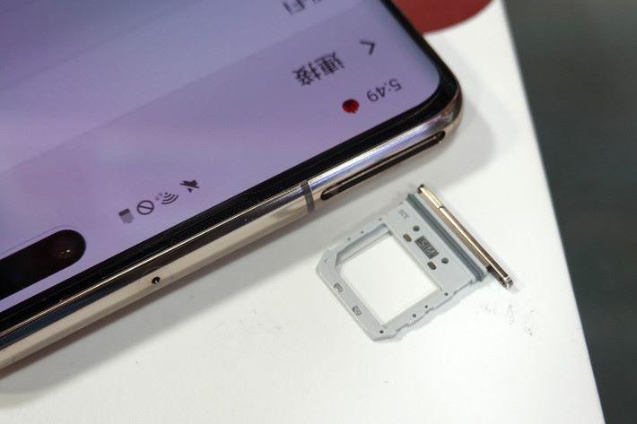 韓水為單卡設計,不可加 Micro SD。