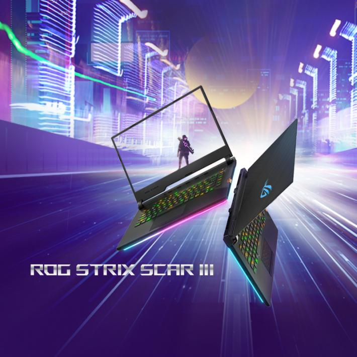 三款之中最高型號的 ROG Strix SCAR III。