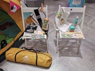 另外視乎參加露營或宿營,會有不同的限定裝備及紀念品。